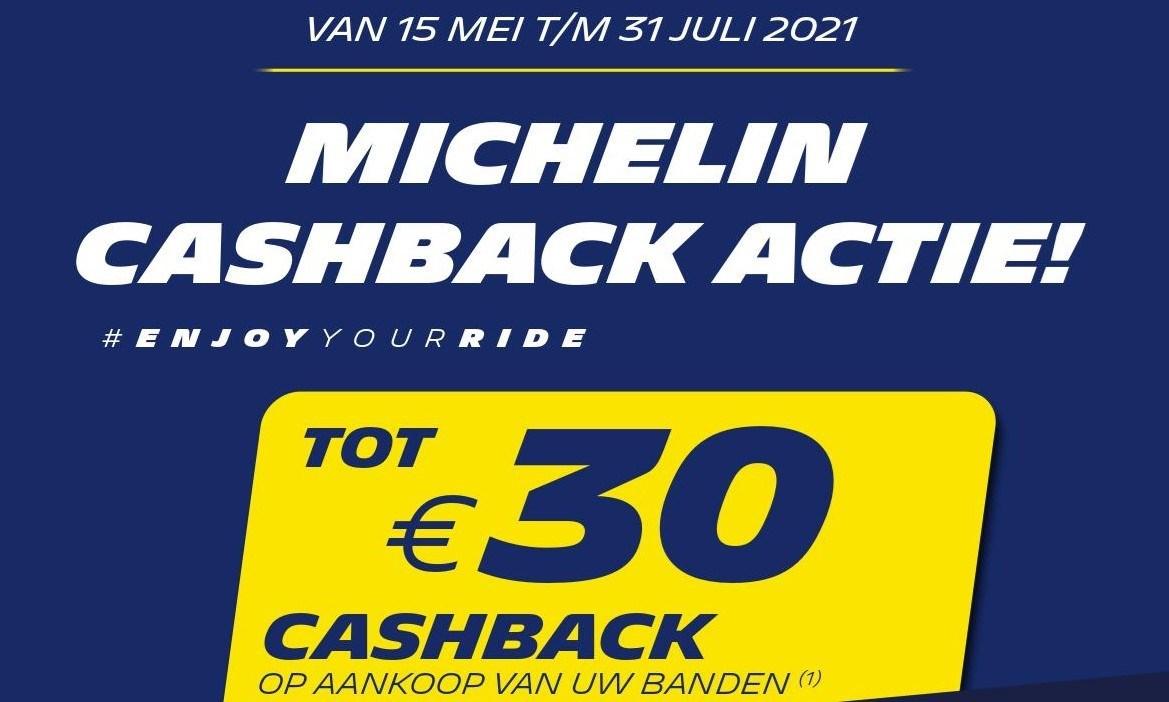 Michelin Cash Back Actie