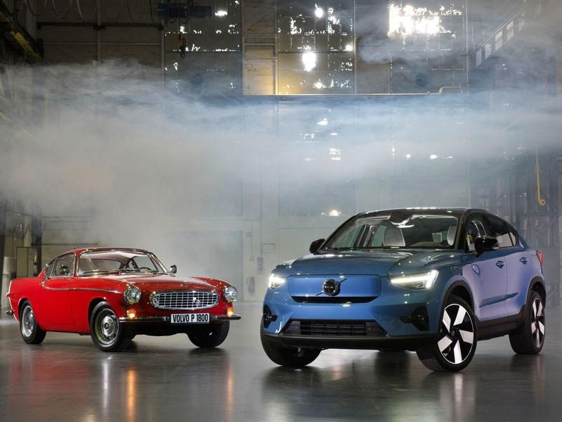 Van Houdt Zien we Volvo binnenkort geschiedenis schrijven? De nieuwe Volvo C40 Recharge