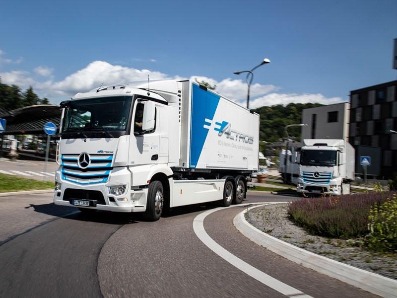 Van Houdt Mercedes-Benz Trucks wijdt nieuw tijdperk in: wereldpremière van de eActros op 30 juni