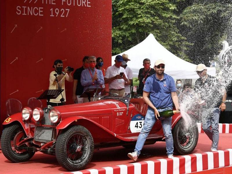 De 1000 Miglia 2021 loopt ten einde: Alfa Romeo pakt de overwinning
