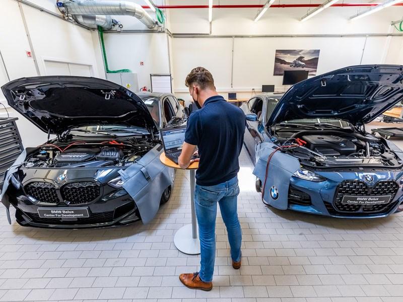 Voor 1 miljoen euro aan BMW's voor technische scholen
