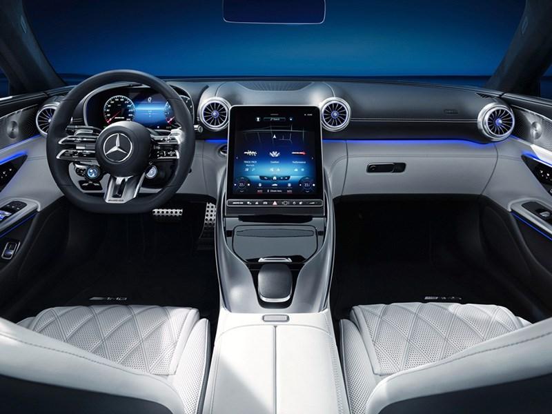 Exclusieve preview van het interieur van de nieuwe Mercedes-AMG SL