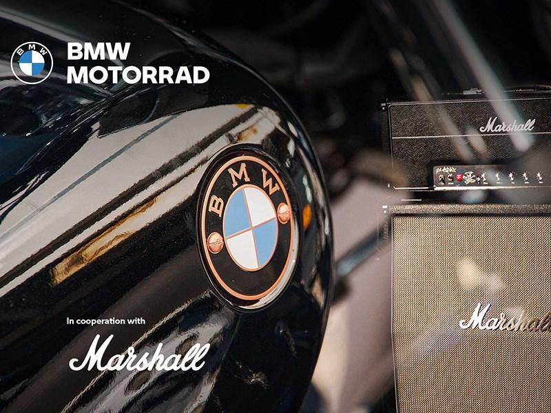 BMW Motorrad en Marshall kondigen strategisch partnership aan