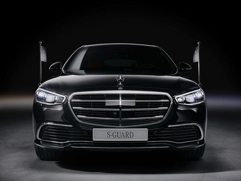 GUARD: gepantserde versie van nieuwe Mercedes-Benz S-Klasse voor het eerst met vierwielaandrijving