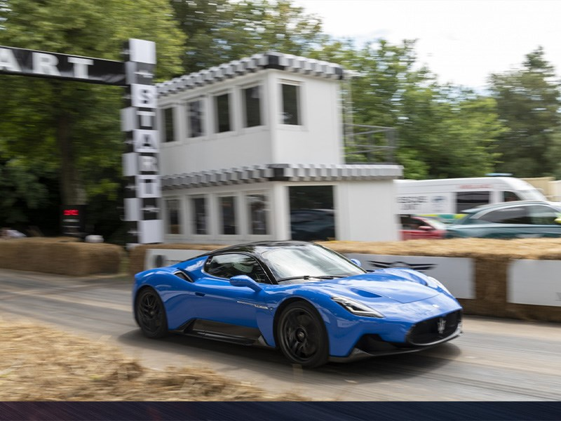 Maserati MC20 for the first time at Goodwood Festival of Speed 2021