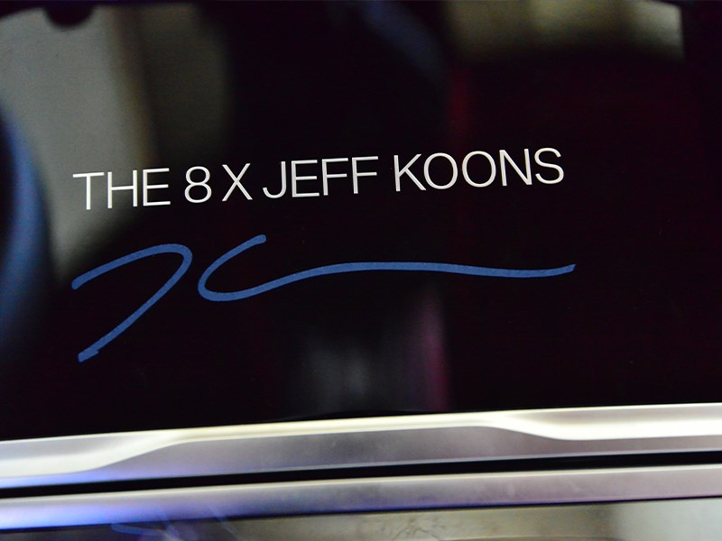 JEFF KOONS X BMW. Wereldberoemde kunstenaar creëert een speciale versie van de BMW 8 Reeks Gran Coupe.
