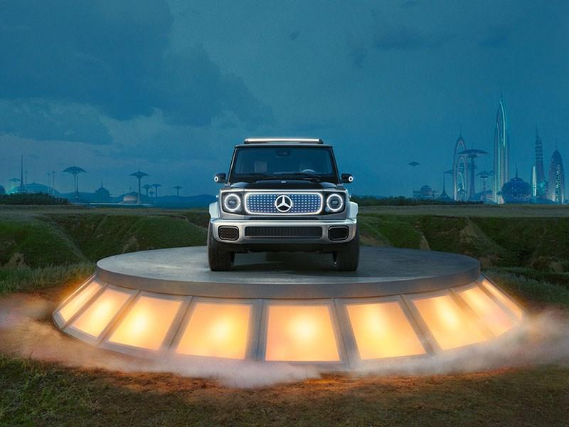 """""""Stronger than time"""": Mercedes-Benz G-Klasse klaar voor het tijdperk van e-mobiliteit"""