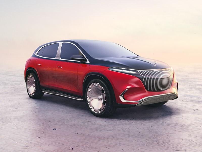 Première van de Concept Mercedes-Maybach EQS – een vooruitblik op de eerste volledig elektrische Maybach