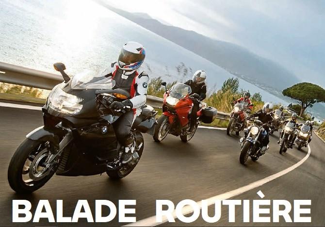 évènement annulé - Balade routière dimanche 3 octobre