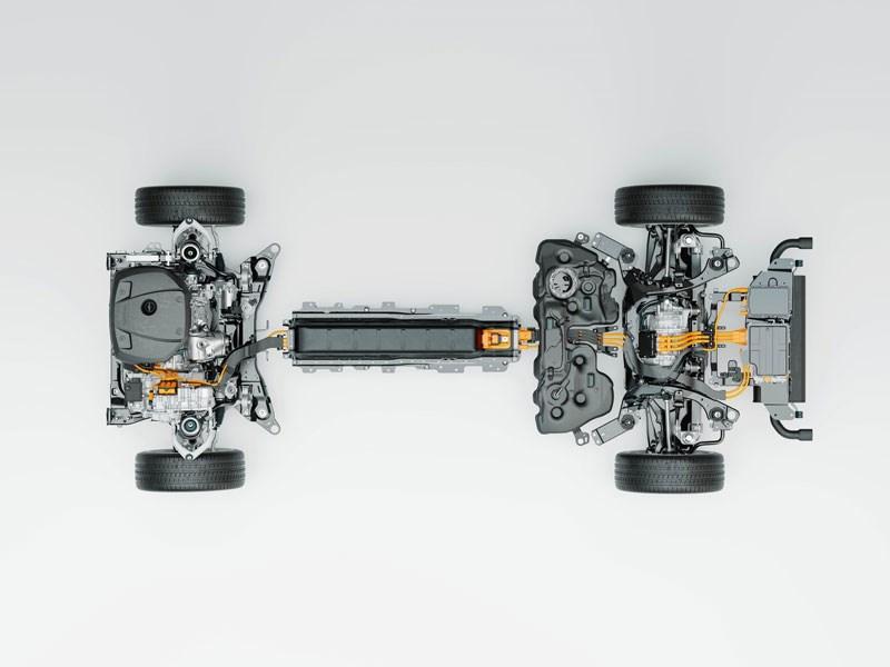 Nieuwe plug-in-hybridemotor van Volvo Cars' Recharge levert beste gemiddeld aantal kilometers per dag ooit op met één laadbeurt