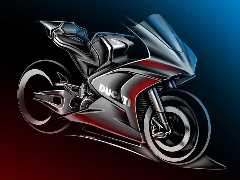 Ducati begint aan haar elektrische tijdperk: het zal de motorfietsen produceren voor de FIM Enel MotoE™ World Cup vanaf het seizoen 2023