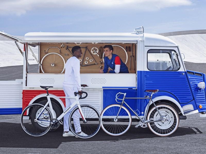 Citroën en Le Coq Sportif de creatieve krachten gebundeld