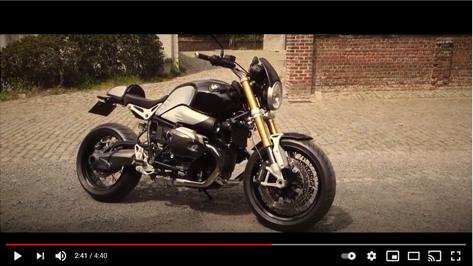BMW R NINE T, THE MOVIE
