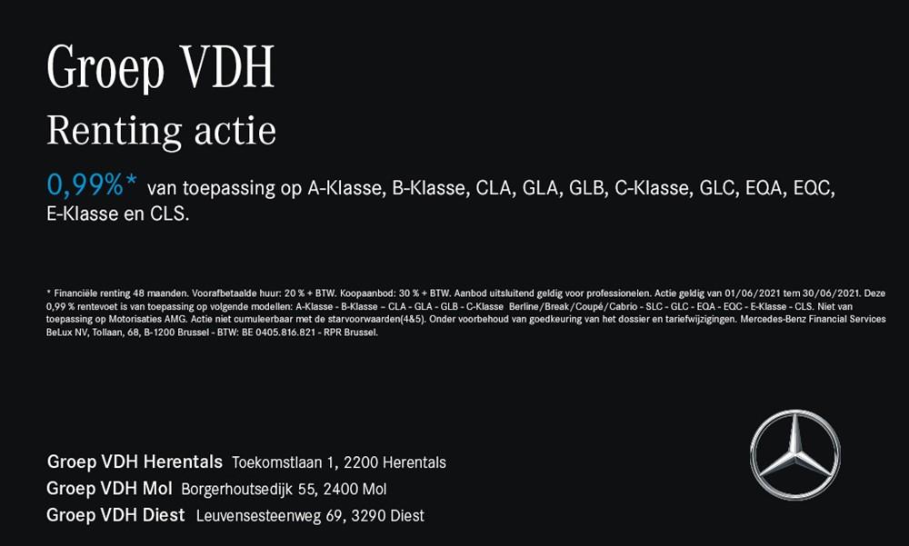 Groep VDH - GLC 200 d Coupé